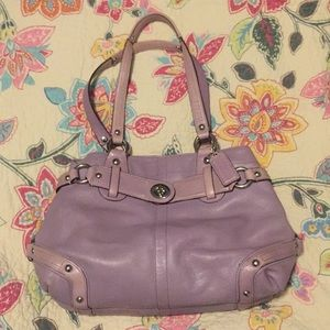 Coach Lavender Beautiful Purse!